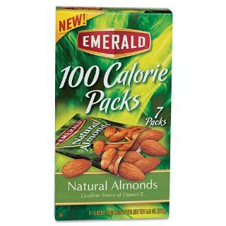 100 Calorie Pack All Natural Almonds, .63oz Packs, 7/Box  Grocery & Gourmet Food