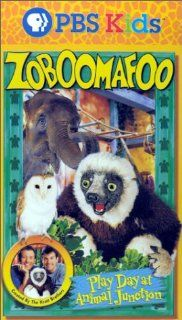 Zoboomafoo   Play Day at Animal Junction [VHS]: Chris Kratt, Martin Kratt, Gord Robertson, Samantha Tolkacz, Genevieve Farrell, Daniel Villeneuve, Jacques Laberge, Pierre Roy, Anna Bourque, Edith Rey, Leo Eaton: Movies & TV