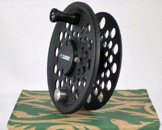 Fly Logic Premium Series Fly Fishing Fly Reel Spool FLP567S/C 5   6   7 Line Weight Aluminum Disc Drag Flyreel Spool   Charcoal Color Made In USA  Sports & Outdoors