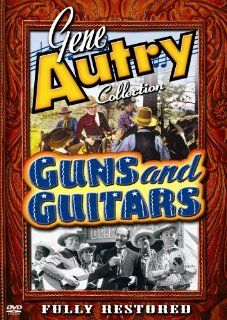 Guns and Guitars: Gene Autry, Smiley Burnette, Dorothy Dix, Earle Hodgins, J.P. McGowan, Champion, Tom London, Charles King, Frankie Marvin, Eugene Jackson, Jack Rockwell, Ken Cooper, Ernest Miller, Joseph Kane, Lester Orlebeck, Nat Levine, Robert M. Beche