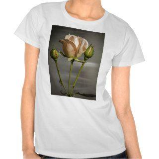 The Pink Rose Tee Shirts