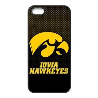 NCAA Iowa Hawkeyes Logo for Iphone5/5s Best Rubber Cover Case Creative New Life: Cell Phones & Accessories