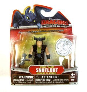 Dreamworks Dragons Defenders of Berk Mini Dragons, Snotlout: Toys & Games