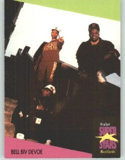 1991 Pro Set Superstars MusicCards U.K. Edition # 9 Bell Biv Devoe (Collectible Pop Music / Rock Star Trading Card): Toys & Games