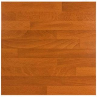 Merola Tile Teka Marron 17 3/4 in. x 17 3/4 in. Ceramic Floor and Wall Tile (17.63 sq.ft./case) DISCONTINUED FHN18TKM