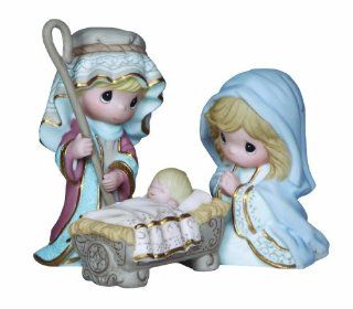 Precious Moments Mini Holy Family Figurine, Set of 3   Collectible Figurines