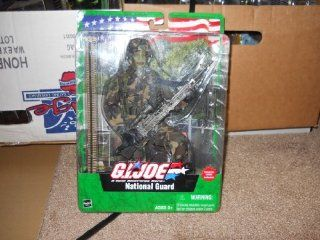 GI Joe A Real American Hero National Guard African American Action Figure: Toys & Games