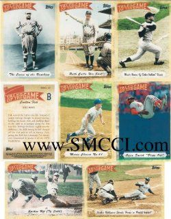 "2010 Topps Baseball ""Tales of the Game"" Complete Mint 25 Card Insert Set. Loaded with Stars and Great Moments in Baseball History Including 1969 Amazin' Mets, Babe Ruth, Ty Cobb, Mickey Mantle, Maris, Ripken, Jeter and more Sports Collectib"