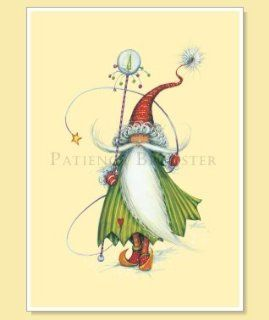 Patience Brewster Elf Christmas Cards   Christmas Ornaments
