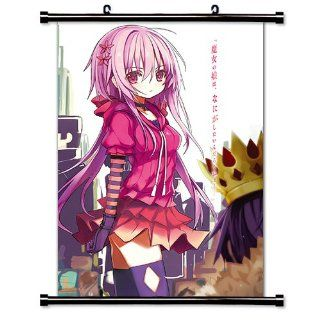 Sunday Without God (Kami sama no Inai Nichiyoubi) Anime Fabric Wall Scroll Poster (32 x 46) Inches   Prints