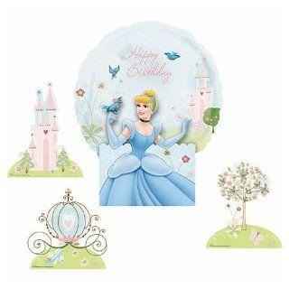 Air Filled 18 Inch Balloon Centerpiece Cinderella   Each Toys & Games