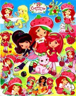 Strawberry Shortcake Raspberry Torte Sticker Sheet BL572 ~ Lemon Meringue: Everything Else