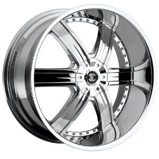 2CRAVE   no.4   28 Inch Rim x 9.5   (6x135/6x5.5) Offset (30) Wheel Finish   Chrome: Automotive