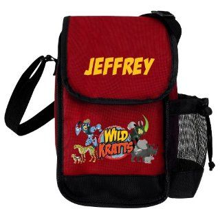Wild Kratts Creature Adventure Red Lunch Bag: Toys & Games