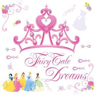 Magnificent Peel & Stick By RoomMates Disney Princess   Crown Giant Wall Decal