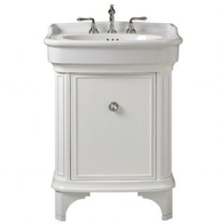 Porcher 85920 00.631 27 Inch Savina Vanity, Cherry   Bathroom Vanities