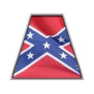 Fire Helmet TETRAHEDRONS Confederate Flag   Single REFLECTIVE Decal: Everything Else