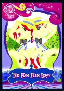 My Little Pony Friendship Is Magic Series 2 Single Trading Card Common The Flim Flam Bros #34 Toys & Games