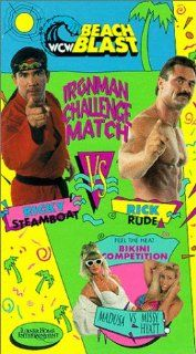 WCW Beach Blast [VHS]: Rick Steiner, Scott Steiner, Steve Williams, Terry 'Bam Bam' Gordy, Rick Rude, Richard Blood, Steve Borden, Mick Foley, Brian Pillman, Scott Levy, Barry Windham, Dustin Runnels, Ted Turner: Movies & TV