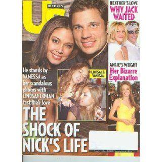 US Weekly June 18 2007   Lindsay Lohan, Vanessa Minnillo, Paris HIlton, Angelina Jolie (Issue 644) Books