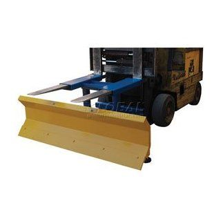 "Fork Truck Snow Plow   72"" Wide Blade: Home Improvement"