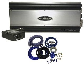 Package Brand New Jensen Power5500 660 Watt RMS 5 Channel Car Amplifier with Free Bass Remote + Cadence Wk42 Complete 4 Gauge 4 Channel Wire Kit with (2) Sets of RCA Cables  Vehicle Multi Channel Amplifiers