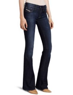 Diesel Women's Livier Flare 661A Jegging, Blue, 26 at  Women�s Clothing store: Jeans