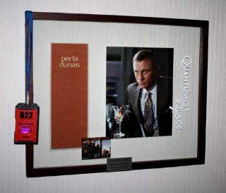 James Bond 007, DANIEL CRAIG Autograph, QUANTUM OF SOLACE Prop, crew badge, call sheets DVD UACC James Craig Entertainment Collectibles