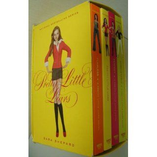 Pretty Little Liars Box Set Books 1 to 4 Sara Shepard 9780061801310 Books