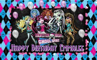 Monster High Edible Image Frosting Sheet/cake Topper : Decorative Cake Toppers : Everything Else