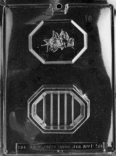 Cybrtrayd Fruits and Vegetables Chocolate Candy Mold, Pour Box with Rose Kitchen & Dining