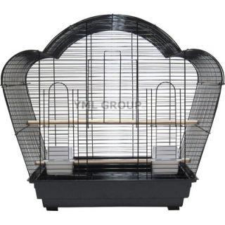 YML Villa Top Small Bird Cage with 2 Feeder Doors