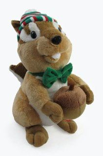 "12"" Charlie the Chipmunk Christmas Animated Singing Xmas Stuffed Animal: Toys & Games"