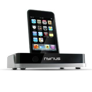 Nyrius NIC708 Media Fusion TV Video Dock for iPod with On screen Navigation, Remote Control, USB/SD & MPEG4/AVI//JPEG   Players & Accessories