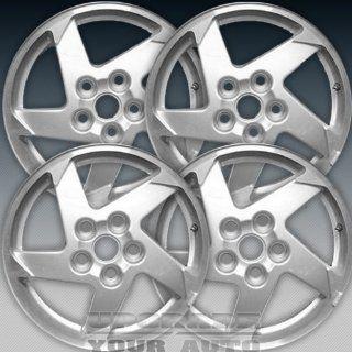 2004 2006 Pontiac Grand Prix 16x6.5 Factory Replacement Sparkle Silver Wheel Set of 4 Automotive