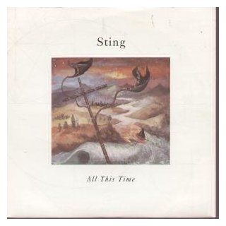"""ALL THIS TIME 7"""" (45) UK A&M 1990 B/W I MISS YOU KATE INSTRUMENTAL (AM713) PIC SLEEVE: Music"""
