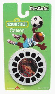 Sesame Street Games View Master 3D 3 Reel Set Toys & Games
