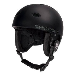 ProTec B2 Plantronics Audio Force Snowboard Helmet   matte black XL  Sports & Outdoors