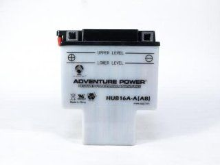 Compatible Honda Motorcycle Sealed Lead Acid Battery, Replaces Part Number HUB16A AAB ER. Fits Models: Honda VT700C Shadow Year: 1986 Engine Size: 700, VT700C Shadow Year: 1987 Engine Size: 700, VT700C Shadow Year: 1984 Engine Size: 700, VT700C Shadow Year