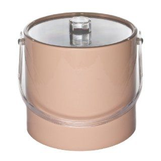Mr. Ice Bucket 721 1 Regency 3 Quart Ice Bucket, Peach Kitchen & Dining