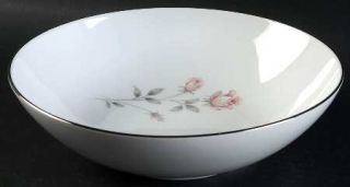 Royal Prestige Rose Crest 9 Round Vegetable Bowl, Fine China Dinnerware   Pink&
