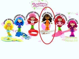 McDonalds Happy Meal Strawberry Shortcake Orange Blossom Scented Doll w/Pencil and Paper Toy Set #3 2010