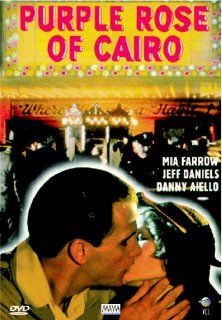 The Purple Rose of Cairo: Mia Farrow, Jeff Daniels, Danny Aiello, Irving Metzman, Stephanie Farrow, David Kieserman, Elaine Grollman, Victoria Zussin, Mark Hammond, Wade Barnes, Joseph G. Graham, Don Quigley, Gordon Willis, Woody Allen, Charles H. Joffe, G