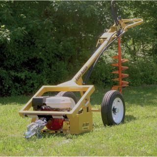 Easy Auger Hydraulic Earth Auger   270cc Engine, 350 Ft. Lbs. of Torque, Model