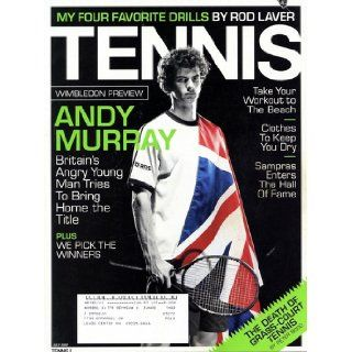 Tennis Magazine, Vol. 43, No. 6, July 2007: James Martin: Books