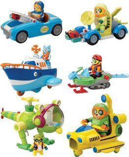 Special Agent OSO Training Pack Vehicle Set Of 6 Toys & Games