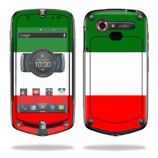 MightySkins Protective Vinyl Skin Decal Cover for Casio G'zOne Commando 4G LTE C811 GZ1 Verizon Cell Phone Sticker Skins Italian Flag: Electronics