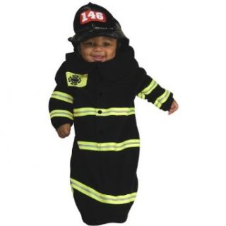 Rubie's Costume Deluxe Baby Bunting, Firefighter Costume, 1 to 9 Months Clothing