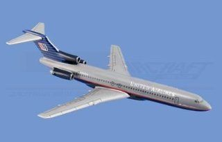 Mini Boeing 727 200, United Airlines Airplane Model Toy. The Model plane includes desk stand. Toys & Games