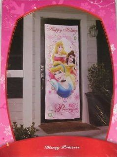 Disney Princess Christmas Door Cover   Cinderella Sleeping Beauty Aurora and Belle   Childrens Party Decorations
